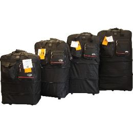 """12 Units of """"E-Z Roll """" 40"""" Expandable Wheel Bag - Travel & Luggage Items"""