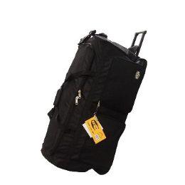 "8 Units of ""E-Z Roll"" 36"" Rolling Duffel -Black - Travel & Luggage Items"