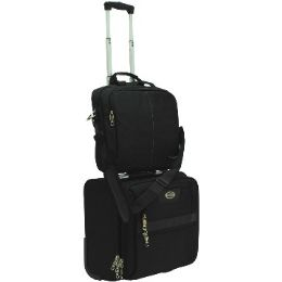 """4 Units of """"E-Z Roll"""" High-class Ballistic Nylon Rolling Computer W/Bag - Travel & Luggage Items"""