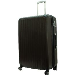 """3 Units of """"E-Z Roll"""" 30"""" Hardshell Luggage-Dark Brown - Travel & Luggage Items"""