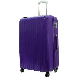 """3 Units of """"E-Z Roll"""" 30"""" Hardshell Luggage-Purple - Travel & Luggage Items"""