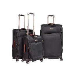 """2 Units of """"E-Z Roll"""" 3pc double spinner wheels luggage - Travel & Luggage Items"""