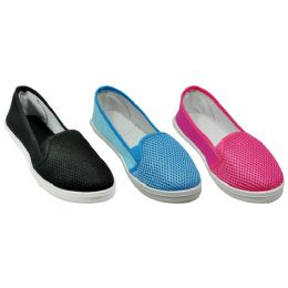 36 Units of Ladies Assorted Color Summer Shoes - Women's Flats