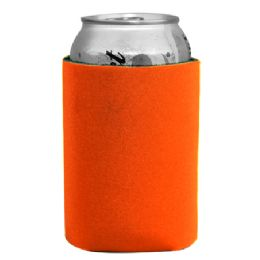 144 Units of Insulated Can or Beverage Holder Orange - Cooler & Lunch Bags
