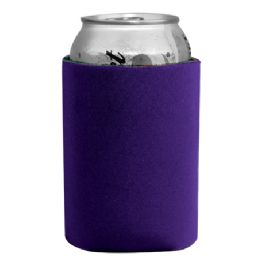 144 Units of Insulated Can or Beverage Holder Purple - Cooler & Lunch Bags