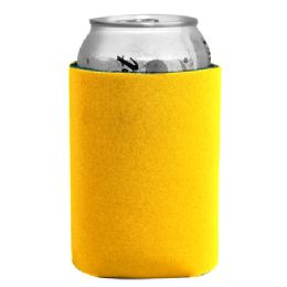 144 Units of Insulated Can or Beverage Holder Yellow - Cooler & Lunch Bags