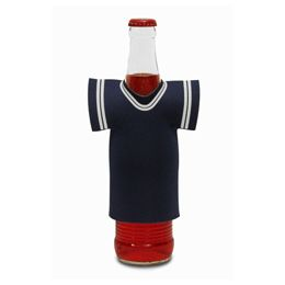 "72 Units of Jersey Foam Bottle Holder 4""x 5"" Blue - Cooler & Lunch Bags"