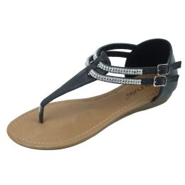 18 Units of Ladies Fashion Sandal Black