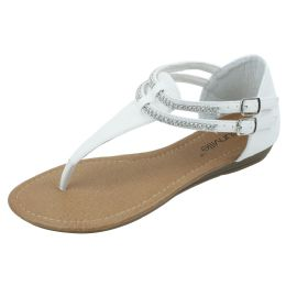 18 Units of Ladies Fashion Sandal White