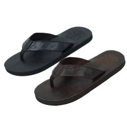 36 Units of Mens Sandal Black And Brown Assorted