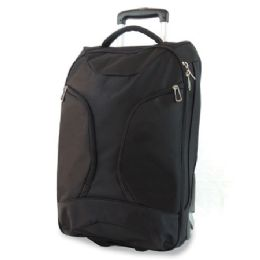 "2 Units of 1680 Ballistic Polyester Rollabord Duffle 22"" X 12"" X 10""- Black - Backpacks 18"" or Larger"