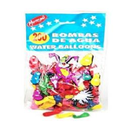 200 Units of 200ct Birthday Water Balloons - Water Balloons