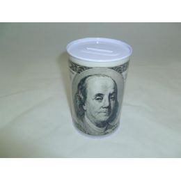 96 Units of Tin Coin Dollar Bank - Coin Holders & Banks