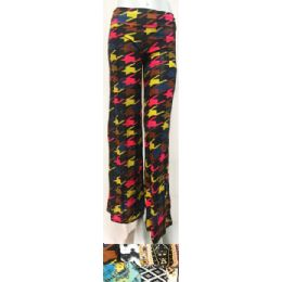 24 Units of Printed Palazzo Pants Assorted - Womens Pants