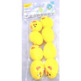 96 Units of 8pc Chick Shp Egg - Easter
