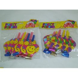 144 Units of 8pc Birthday Blow Out - Party Novelties