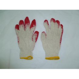 300 Units of Red Coating Glove - Working Gloves