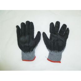 240 Units of Black Coating Glove - Working Gloves