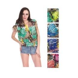 36 Units of Womens Fashion Top Assorted Colors - Womens Fashion Tops