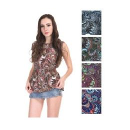 144 Units of Womens Spring Fashion Top Assorted Colors - Womens Fashion Tops