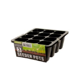 72 Units of Seeder Pots Set - Garden Planters and Pots