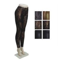 36 Units of Womens Fashion Leggings Assorted Colors Sizes Large, Ex Large - Womens Leggings