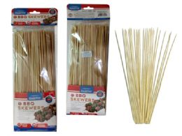 72 Units of 200 Piece Bamboo Skewers - BBQ supplies