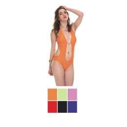 36 Units of Womens Fashion Swim Suit Assorted Colors - Womens Swimwear