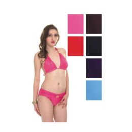 72 Units of Womens Fashion 2 Piece Swim Suit Assorted Colors - Womens Swimwear