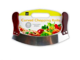 12 Units of Curved Chopping Knife - Kitchen Knives