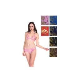 24 Units of Womens Fashion 2 Piece Swim Suit Assorted Colors - Womens Swimwear