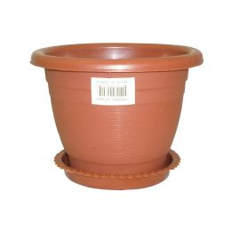 "175 Units of 5.5"" x 4"" Planter With Base - Garden Planters and Pots"