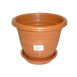 "100 Units of 7.5""x 6"" Planter With Base"