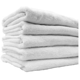 12 Units of PLAIN BATH SHEET EGYPTIAN TERRY CLOTH - Bath Towels
