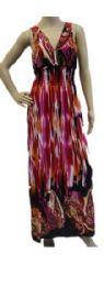 48 Units of Ladies Long Summer Sun Dress Assorted Styles - Womens Sundresses & Fashion