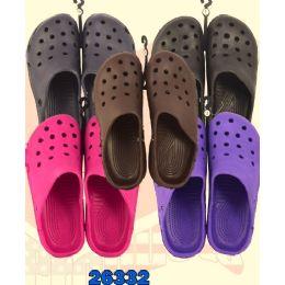 48 Units of Ladies Garden Shoes - Women's Flip Flops
