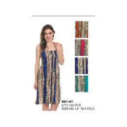 72 Units of Woman's Fashions Summer Dress - Womens Sundresses & Fashion