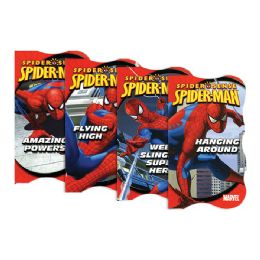 96 Units of SPIDER-MAN Board Books - Crosswords, Dictionaries, Puzzle books