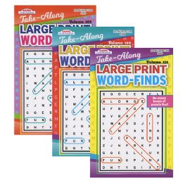 72 Units of KAPPA Take Along Large Print Word Finds Puzzle Book - Digest Size - Crosswords, Dictionaries, Puzzle books