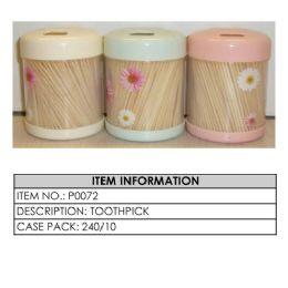 144 Units of TOOTHPICKS - Toothpicks