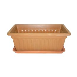 "60 Units of 13.5x7.5x5.5h"" PlanteR- Rect - Garden Planters and Pots"