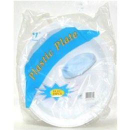 "60 Units of 9"" 12ct Plastic Plates - Disposable Plates & Bowls"