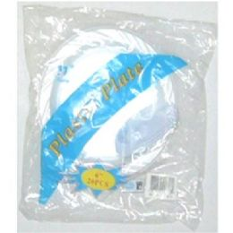 "60 Units of 6"" 20ct Plastic Plates - Disposable Plates & Bowls"