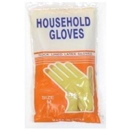 144 Units of Latex Gloves-Thick Quality Size-Large - Kitchen Gloves