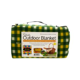 6 Units of Soft Fleece Foldable Outdoor Blanket - Fleece & Sherpa Blankets