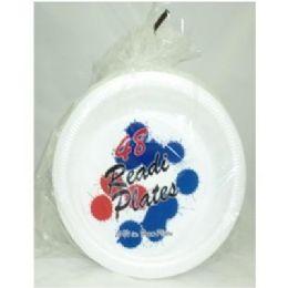 "24 Units of Readi 48ct 10-1/4"" Foam Plates - Disposable Plates & Bowls"