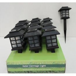 "24 Units of 11.5"" Solar Light Stake - Garden Decor"