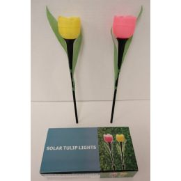 "60 Units of 17"" Solar Light-Tulip - Garden Decor"