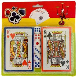 36 Units of 2pc Playing Card With Dice - Playing Cards, Dice & Poker