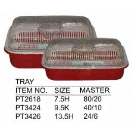 20 Units of 9.5 H TRAY - Serving Trays